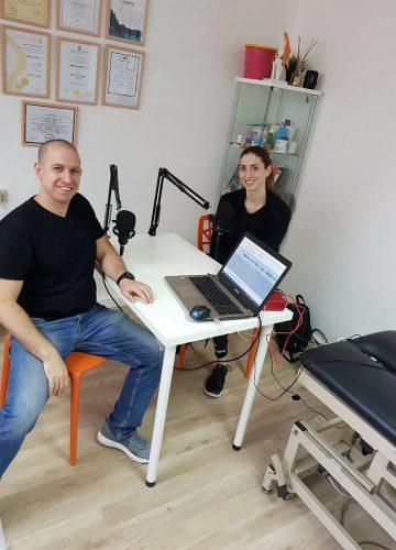 פודקאסט – רצפת אגן, אימונים והריון