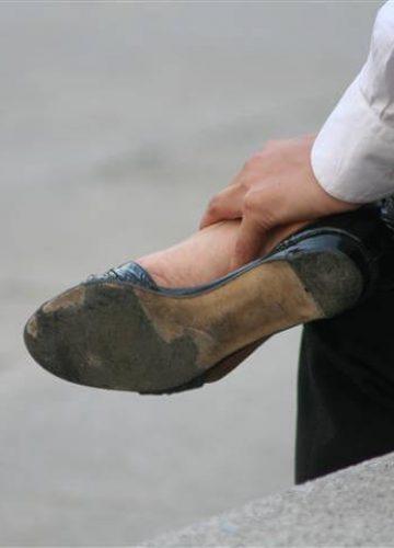 דלקת במשטח כף הרגל