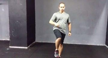 כאבי ברכיים בריצה- בדיקת יציבות אגן
